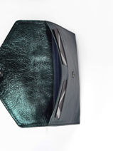 Porte-papiers Etincelle Cuir Etrier Bleu etincelle irisee EETI054-vue-porte