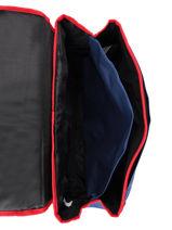Wheeled Schoolbag 2 Compartments Federat. france football Blue le coq 203X203R-vue-porte