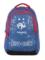 Backpack 3 Compartments Federat. france football Blue le coq 203X204I
