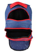 Backpack 3 Compartments Federat. france football Blue le coq 203X204I-vue-porte