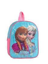 Backpack Frozen Blue basic AST1454
