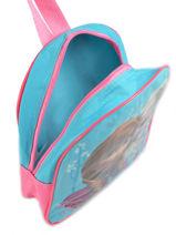 Backpack Frozen Blue basic AST1454-vue-porte