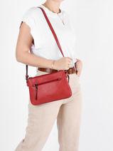 Shoulder Bag Gracieuse Hexagona Red gracieuse 315312-vue-porte