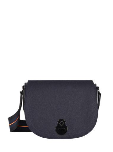 Longchamp Cavalcade caban Messenger bag Blue
