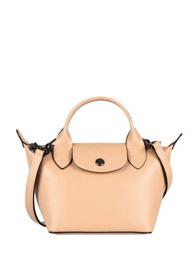 Longchamp Le pliage cuir boxy Handbag Black
