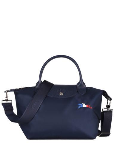 Longchamp Le pliage trÈs paris Sacs porté main Bleu