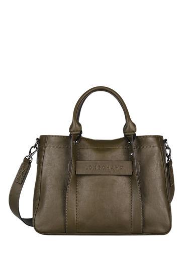 Longchamp Longchamp 3d zip Sacs porté main Vert