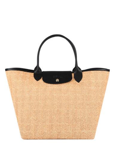 Longchamp Le pliage paille Handbag Brown