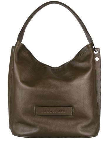 Longchamp Longchamp 3d zip Hobo bag Green