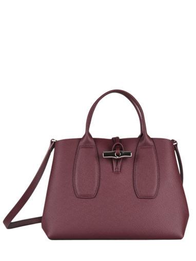 Longchamp Roseau Handbag Red