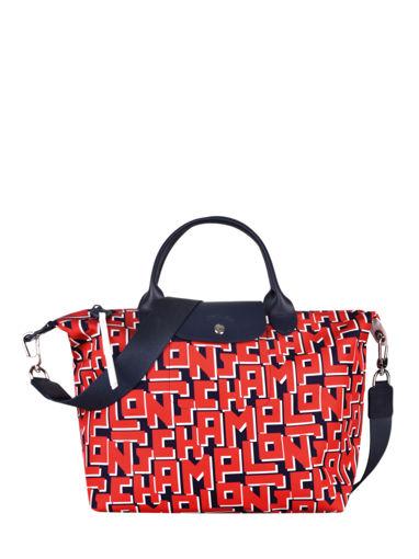 Longchamp Le pliage lgp Handbag Red