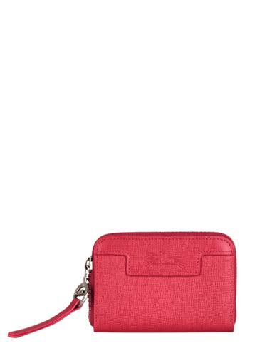 Longchamp Le pliage neo Porte-monnaie Rouge