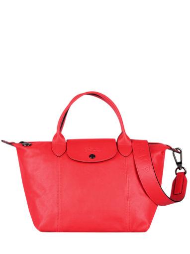 Longchamp Le pliage cuir Sacs porté main