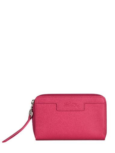 Longchamp Le pliage neo Wallet Red