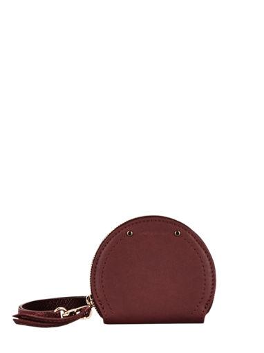 Longchamp Cavalcade Coin purse Red