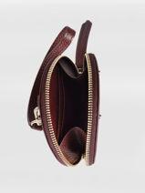 Longchamp Cavalcade Porte-monnaie Rouge-vue-porte