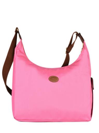 Longchamp Le pliage Messenger bag Pink