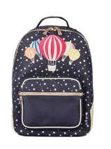 Backpack Bobbie Boy 2 Compartments Jeune premier Blue daydream girls G