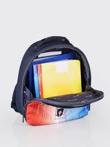 Backpack Ralphie Boy Jeune premier Multicolor daydream boys B-vue-porte