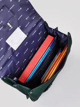 Satchel It Bag Maxi Boy 2 Compartments Jeune premier Silver daydream boys B-vue-porte