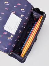Satchel It Bag Mini Girl 2 Compartments Jeune premier Gold daydream girls G-vue-porte