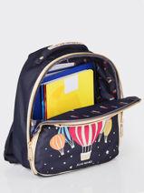 Backpack Ralphie Girl Jeune premier Gold daydream girls G-vue-porte