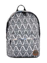 Backpack 1 Compartment Rip curl Black south wind LBPHW1