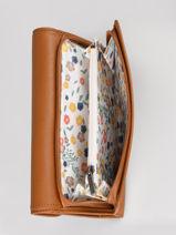 Continental Wallet Leather Lancaster Brown soft vintage nova 15-vue-porte