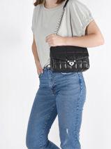 Shoulder Bag Soho Leather Michael kors Black soho F0S1SL3L-vue-porte