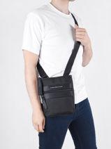 Crossbody Bag Tommy hilfiger Black th nylon AM07579-vue-porte