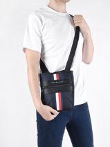 Crossbody Bag Tommy hilfiger Blue th nylon AM07586-vue-porte