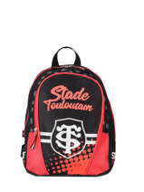 Sac A Dos 1 Compartiment Stade toulousain Red rugby 193T201S