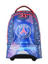 Wheeled Backpack 2 Compartments Paris st germain Blue ici c'est paris 192P204R