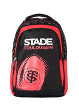 Sac A Dos 3 Compartiments Stade toulousain Rouge rugby 213T204I