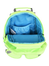 Backpack 1 Compartment Affenzahn Green large friends NEL1-vue-porte