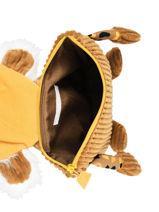 Mini Backpack Globe Trotoys Les deglingos Brown globe trotoys 350-vue-porte