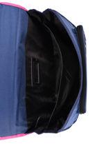 Satchel 2 Compartments Little marcel Blue school 330220-vue-porte