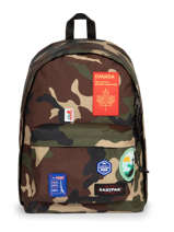 Backpack Out Of Office Patch Eastpak Black patch it K767PATC