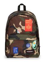 Sac A Dos 1 Compartiment Eastpak Black patch it K767PATC