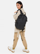 Backpack Eastpak Black core series K34F-vue-porte