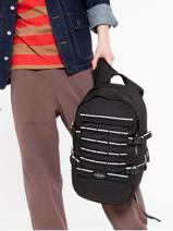 Backpack Floid Tact 1 Compartment Eastpak Black core series K24F-vue-porte