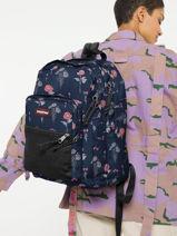 Backpack Pinnacle Eastpak Blue pbg authentic PBGK060-vue-porte