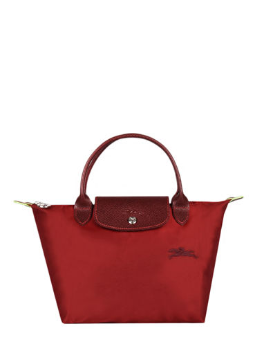 Longchamp Le pliage green Handbag Red
