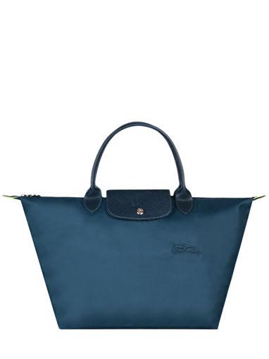 Longchamp Le pliage green Sacs porté main Bleu
