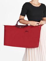 Longchamp Le pliage green Sacs de voyage Rouge-vue-porte