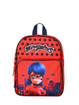 Sac A Dos 1 Compartiment Miraculous Rouge red 4092104