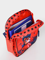Sac A Dos 1 Compartiment Miraculous Rouge red 4092104-vue-porte