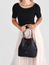 Shoulder Bag Pur Leather Lancaster Black pur 39-vue-porte