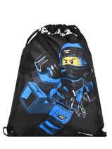 Gym Bag Lego Blue ninjago 8