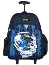 Wheeled Backpack Lego Blue ninjago 9
